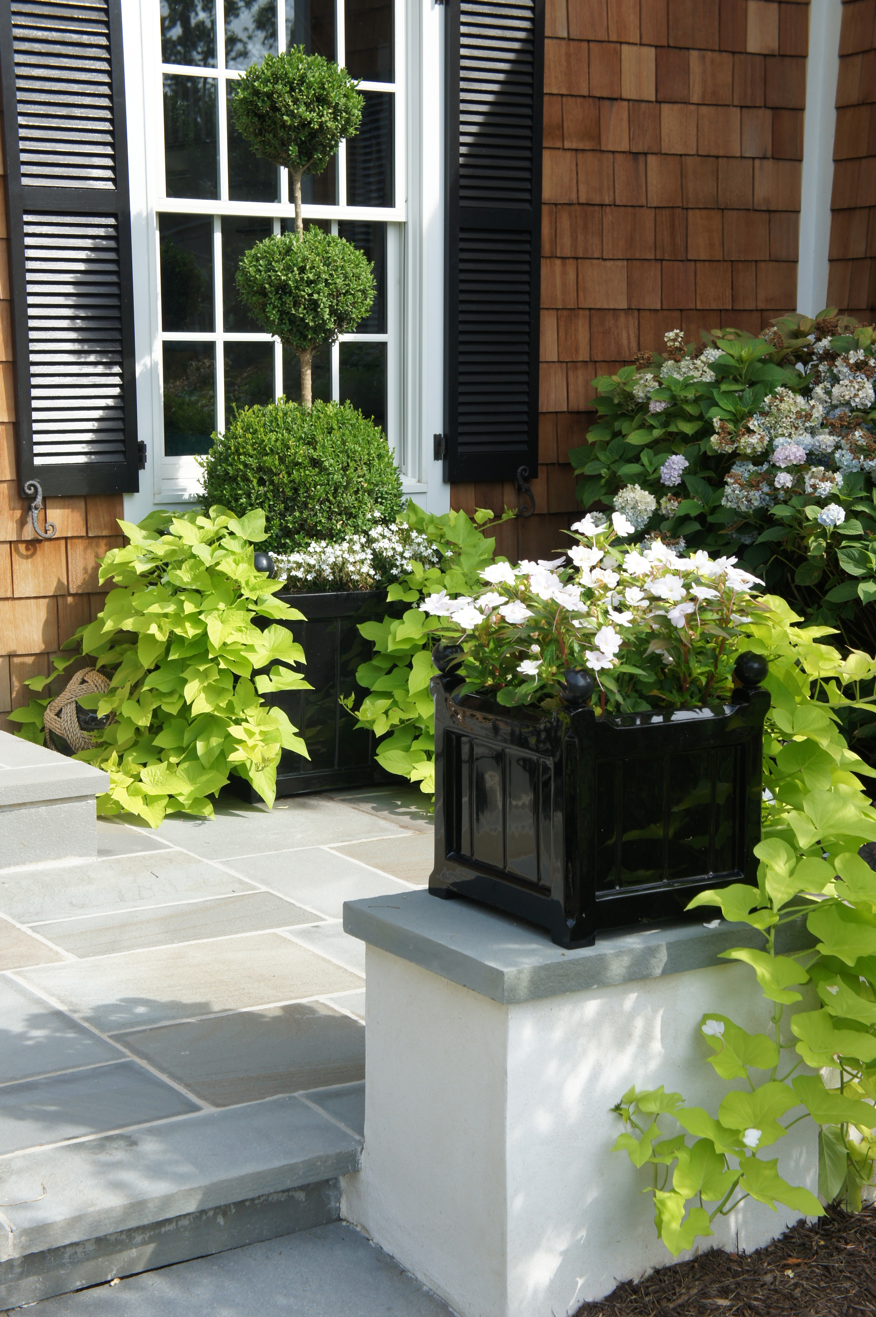 products plant planter beds grey dark with finish round patio in shown green large on stone garden